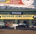 Superior Builders' Office 1950s